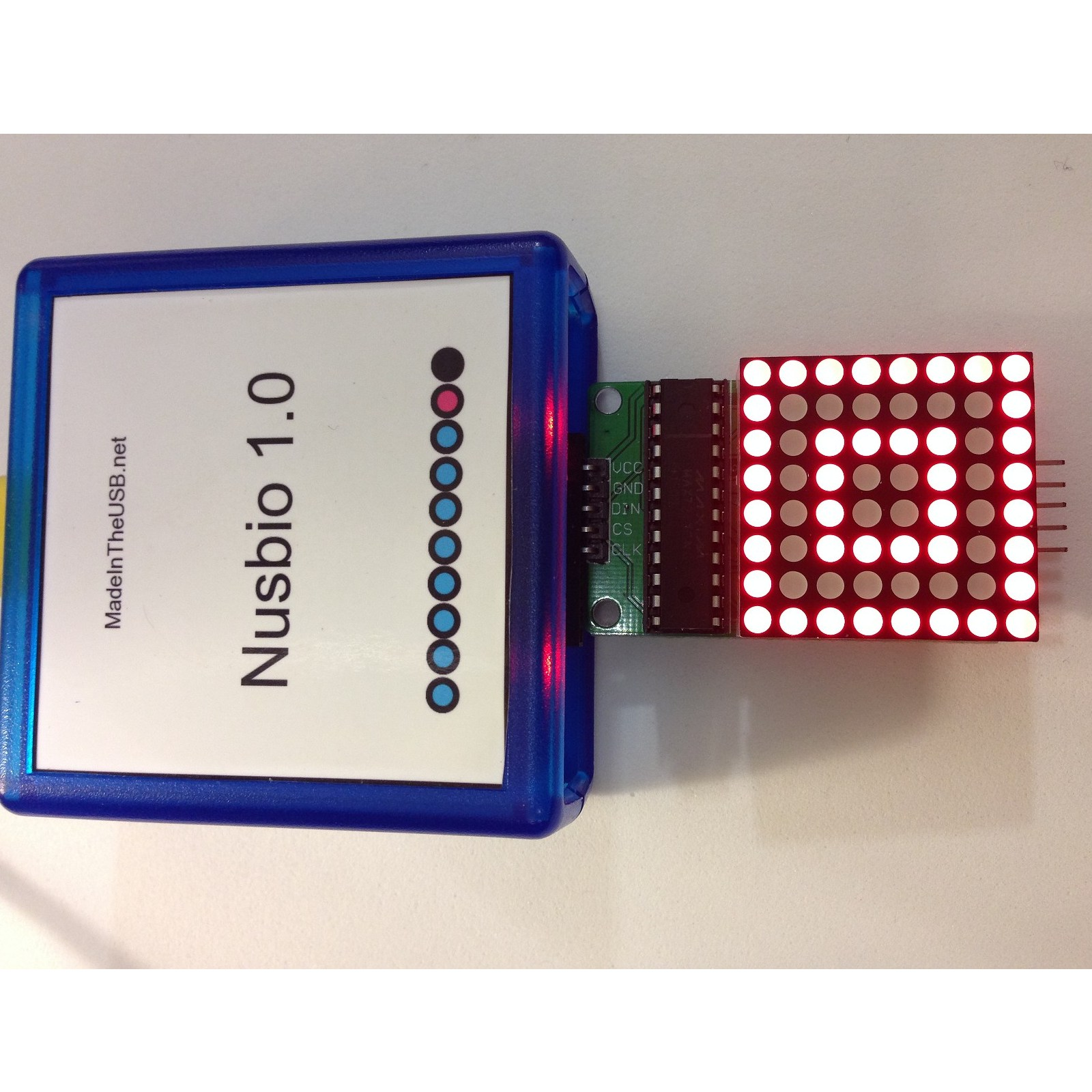 Madeintheusbnet How To Build A Digital Potentiometer Circuit Using Mcp4131 8x8 Red Led Matrix See Our Store