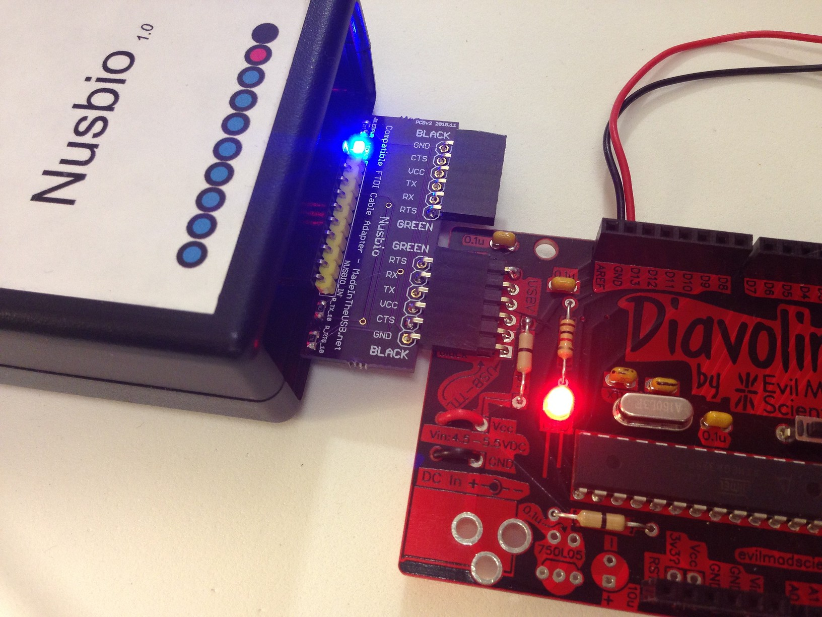 Madeintheusbnet How To Build A Digital Potentiometer Circuit Using Mcp4131 Use Nusbio Program Any Arduino Compatible With No Uart Like The Adafruit Trinket Pro Or Diavolino